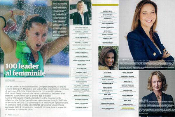 100 Leader al femminile