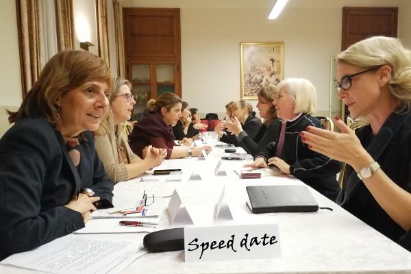 Serata Speed date: con l'ascolto, il network vien da sé